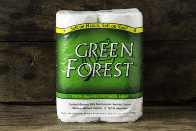 Thumb 400 green forest bath tissue 2 ply 4 roll