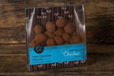 Thumb 400 charles chocolates triple chocolate almonds 184 g