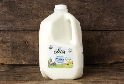 Thumb 400 clover organic 2 reduced fat milk gal