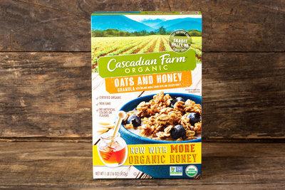 Thumb 400 cascadian farm organic oats honey granola 16 oz