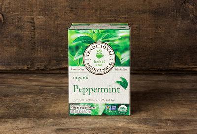Thumb 400 traditional medicinals organic peppermint tea pack