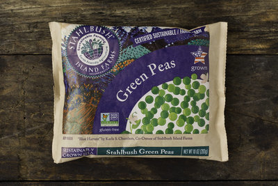 Thumb 400 stahlbrush island farms frozen green peas 10 oz
